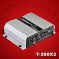 Amplificador Taramp's T-200 X2 2-ohms BRIDE 4 OHMS